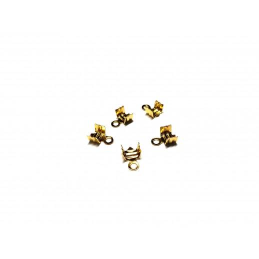 Концевики, цвет золото