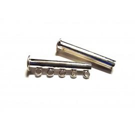 7. Замки слайдеры (трубочка с петлями)